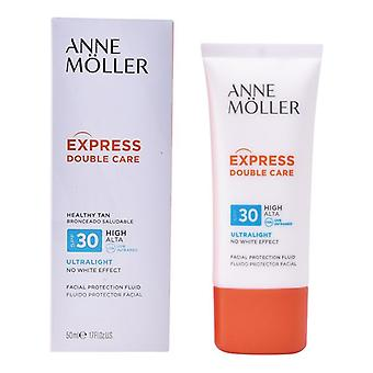 Sun Screen Lotion Express kaksinkertainen hoito Anne M Ller SPF 30 (50 ml)