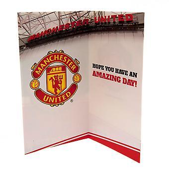Manchester United FC Stadium Birthday Card
