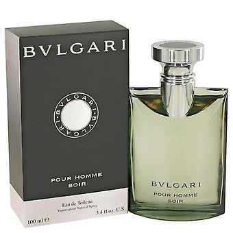 Bvlgari Pour Homme Soir Eau De Toilette Spray par Bvlgari 439705 100 ml