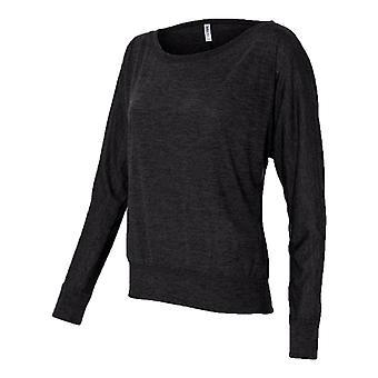 Bella Flowy Off Shoulder Long Sleeve T-Shirt