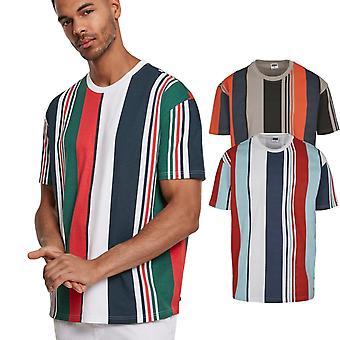 Urban Classics-lourd surdimensionné grand AOP Stripe chemise