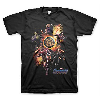 Avengers Koniec Gry Thanos Iron Man Hulk 2 Oficjalna koszulka