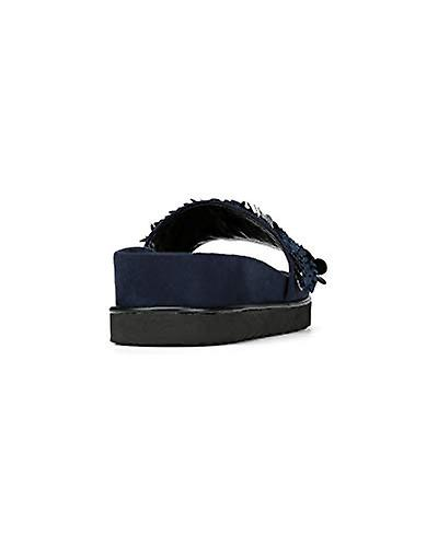 Donald J Pliner Kvinner ' S Cavasp Slide Sandal Navy 9,5 M Us