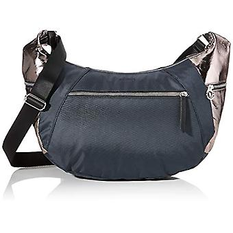 s.Oliver (Bags) 39.002.94.2033 Women's Pockets Shoulder bagGrey (Grey/Black) 16.5x28x50 Centimeters (B x H x T)