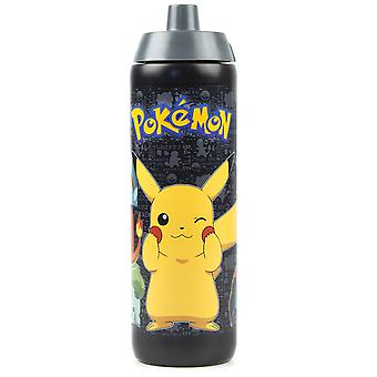 Pokemon Pikachu and Characters 724ml Sports Water Plastic Bottle