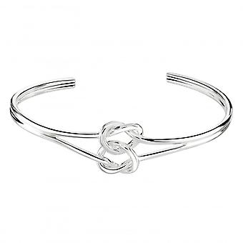 Kit Heath Heritage Sterling Silver Double Knot Bangle 72074HP028