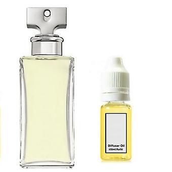 Calvin Klein Enternity For Her Inspired Fragrance 100ml Refill Essential Diffuser Oil