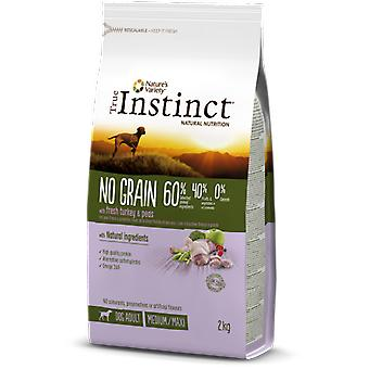 True Instinct dry food for dogs Tind No Grain Med Adult Turkee