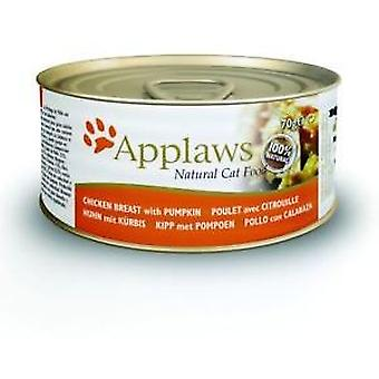 Applaws Tin with Chicken and Pumpkin Breast for Cats (Cats , Cat Food , Wet Food)