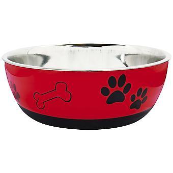Ica Steel Feeder Print (Dogs , Bowls, Feeders & Water Dispensers)