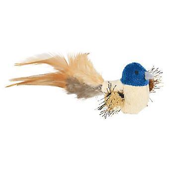 Trixie Pássaro com penas e Catnip, peluche, 8 cm (Gatos , Brinquedos , Peluches)