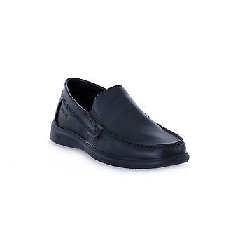Enval soft lin tassel black shoes