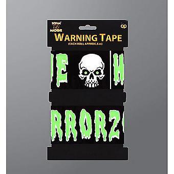 Scream Machine Halloween Warning Tape (Pack Of 2)