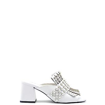 Jeffrey Campbell Ezbc132051 Femmes-apos;s White Leather Slippers