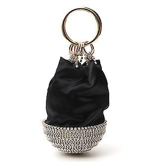 Rosantica B005orvisner Women's Black Silk Handbag