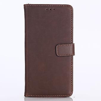 Huawei P20 Lite retro Wallet Case-koffie