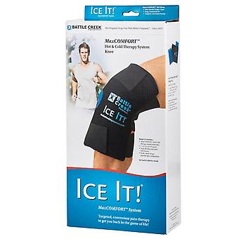 Battle creek ice it! cold comfort knee system, 1 ea