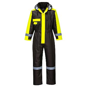 sUw - Outdoor Workwear Functional Warm Winter Coverall With Pack Away Hood