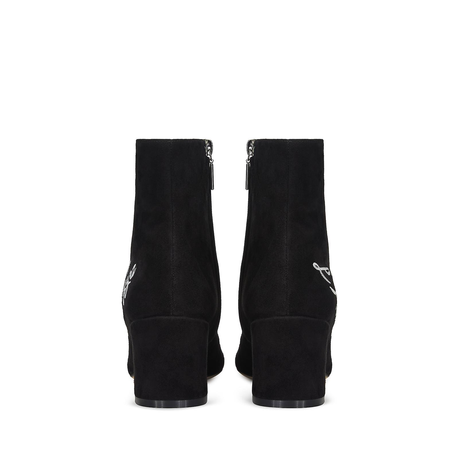 Dolce & Gabbana Short Boots In Solid-Coloured Suede