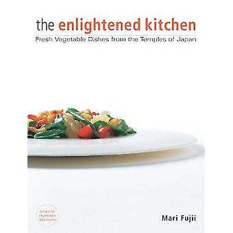 Valaistunut keittiö tuore kasvis ruokia, jotka ovat Japanin temppelit Mari Fujii