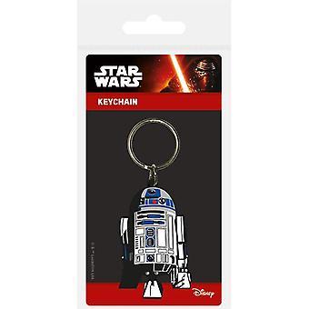 Star Wars R2-D2 rubberen sleutelhanger