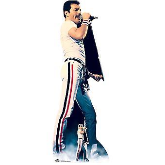 Freddie Mercury Rock Icon Lifesize Cardboard Cutout / Standee / Standup