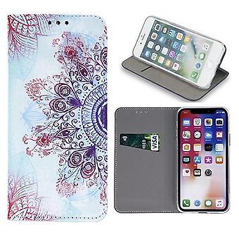 Samsung Galaxy A40 - Smart Trendy Mobilplånbok - Decor