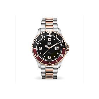 Ice Watch Watch Unisex ICE acier Chic argent rose-or Moyen 016546