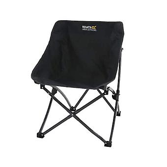 regatta forza pro folding directors chair black with durable steel frame