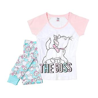 Women's Disney The Aristocats Marie The Boss Pyjama Set