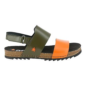 The Art Company 1257 Creta Sandal Kaki/Orange