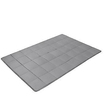 Premium Weighted Blanket Gravity Blankets Sensory Sleep Reduce Anxiety Cotton UK Medium 122X185cm 5.5kg