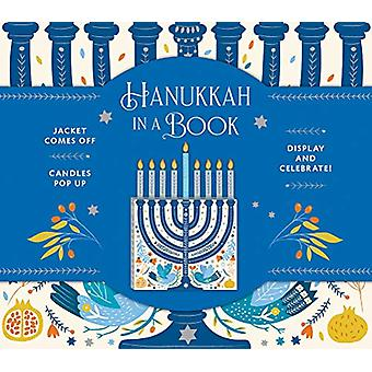 Hanukkah in a Book (UpLifting Editions) - Jacket comes off. Candles po