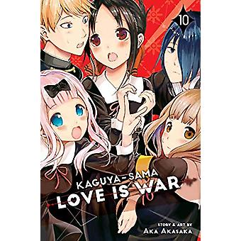 Kaguya-sama - Love Is War - Vol. 10 by Aka Akasaka - 9781974706631 Book