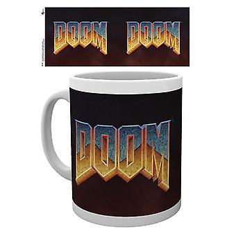 Doom Classic Logo Mugg
