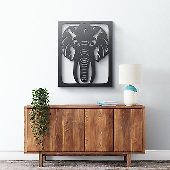 Metal Wall Art - Elephant