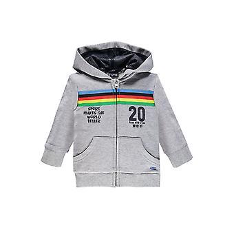 Brums Milano Fleece Hoodie With Rainbow Design