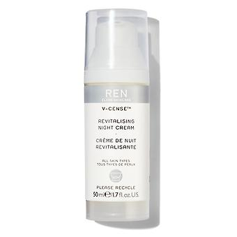 REN V-Cense revitaliserande nattkräm 50ml
