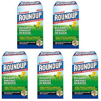 Sparset: 5 x ROUNDUP® Lawn Weed-Free, 100 ml