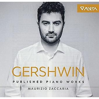 Gershwin: Complete Piano Works Maurizio Zaccaria [CD] USA import