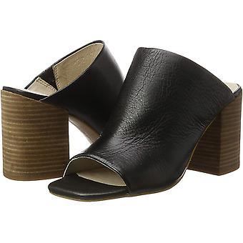 Kenneth Cole New York Womens Karolina Leather Peep Toe Mules