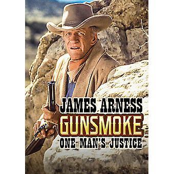 Gunsmoke: Justice d'un homme (1994-Téléfilm) import USA [DVD]