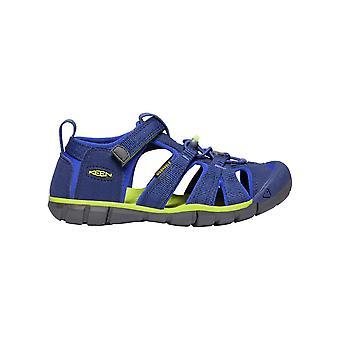 Keen Kids Seacamp II CNX Sandal Blue Depths/Chartreuse