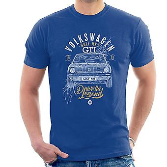 Volkswagen Golf GTI Drive The Legend Men's T-Shirt