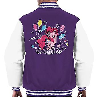 My Little Pony Pinkie Pie Full Of Laughter Men's Varsity Giacca