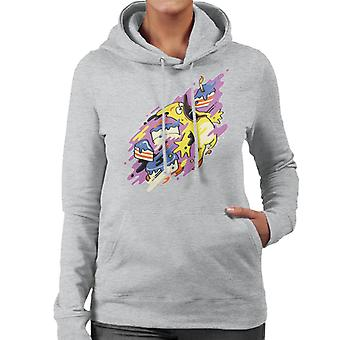 Angry Birds Paint Splash Women's Hooded Sweatshirt
