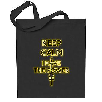 Keep Calm Have The Power Heman Totebag