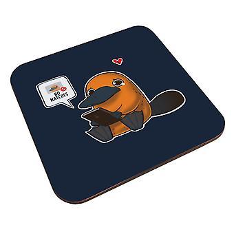 No Matches Platypus Coaster