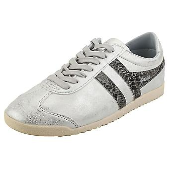 Gola Bullet Snake Womens Fashion Trainers in Silver