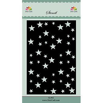 Dixi Craft Stars 2 Stencil